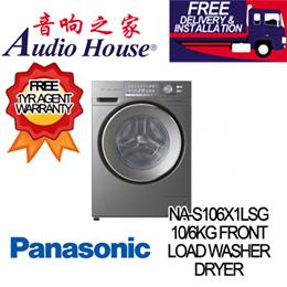 PANASONIC NA-S106X1LSG 10/6KG FRONT LOAD WASHER DRYER ***1 YEAR PANASONIC WARRANTY***