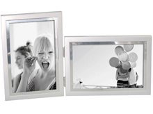 Unique Designed Silver Combo Horizontal Cum Vertical Display Photo Frame