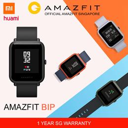 [Official Amazfit Singapore] XIAOMI HUAMI AMAZFIT BIP SmartWatch | GPS | English Version
