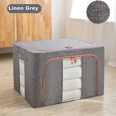 Dust Free 66L Storage Box Linen Grey (Ver2)