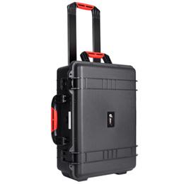 Eirmai R600 plastic protective safety case camera Trolley Case SLR camera case waterproof and moistu