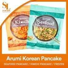 [Korean Food] Arumi Korean Pancake - Seafood Pancake / Kimchi Pancake / Frozen
