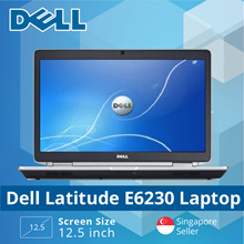 Refurbished Dell Latitude E6230 Laptop Core i5 / 4GB RAM / 320GB HDD / 12.5in / Win 7/ 1mth warranty