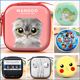 Lowest Price Earing Wire Holder*Cartoon Coin Purse*Cute Coin Pouch* Wallet Pouch*Cartoon Earphone