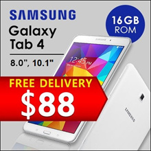 ★MULTI MODEL★ Samsung Tab 4 / 8.0/10.1inch display / Wi-Fi+4G / 1.5GB RAM / 16GB ROM / Refurbished