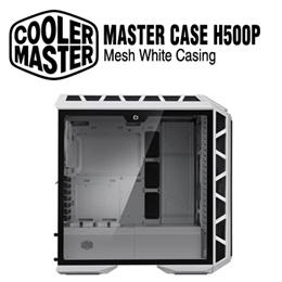 Cooler Master H500P RGB Master Case with T.G. Mesh White