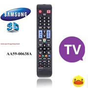 Brand New Remote Control For Samsung AA59-00638A 3D Smart TV (Color: Black)