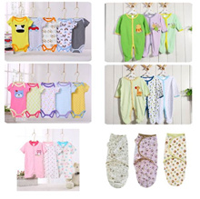 Baby pajamas sleepsuit Romper newborn clothing to 24 month