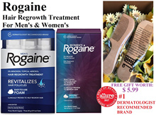Authentic * Genuine * Rogaine Hair Loss Hair Thinning Treatment Minoxidil Foam