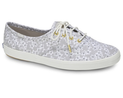 KEDS - KDZ-WF57984-CHAMPION FLORAL.LT GRAY. WOMEN SHOES KDZ0002458.C5896