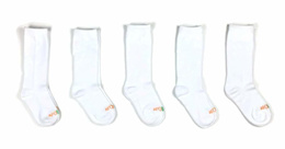 AFO Baby Socks, Knee High - 5 Pack, Ideal for Pediatric AFOs, SMOs and Foot Braces