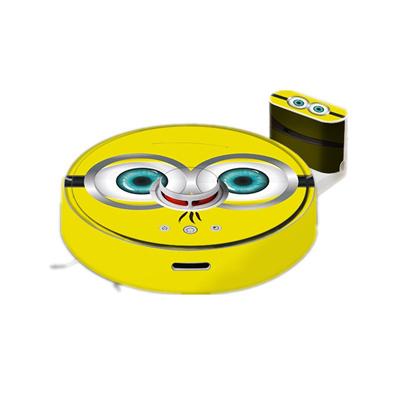 Sticker for Roborock S50 S51 S55 Robot Vacuum Cleaner Beautifying  Protective Film Minion, Orange, Co