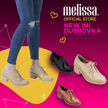 [Just In] MELISSA Official Store Dubrovka Lace-up Shoes for Women