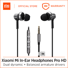 Xiaomi Mi In-Ear Headphones Pro HD Silver