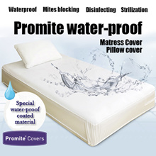 ★Made in Korea★ Waterproof/Anti-Dust-Mite Mattress Protector/Latex Protector/BEDSHEET/Pillow Cover/Zipper Type/Mites blocking/Disinfecting/Strilization/99.9% Dust Mites Bloacking !/Polyolefin 100%