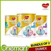 [DUMEX] 2 x 1.6kg Carton Sale ★  Step 2/3/4 Baby Milk Formula ★