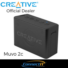 Creative MUVO 2c Water-resistant Bluetooth® Speaker with Built-in MP3 Player