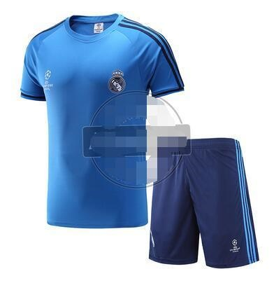 03a120685 Champions League Real Madrid Chelsea 15-16 short-sleeved training suit suit  C Romessi