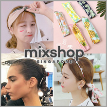 FASHION ACCESSORIES ($2~$6)  /Hair ties / Baby Headband / clip /Hair band/Head Band/ X series