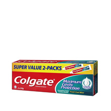 COLGATE RED FRESH COOL MINT TWIN PACK 2X250G