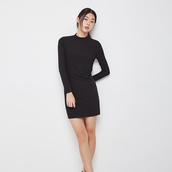 ナインNAINネックワンピースOP3054 面ワンピース/ 韓国ファッション