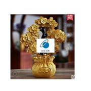 Citrine Lucky Tree Pachira money tree ornaments crafts home decorations