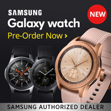 Pre-Order New Launch Samsung Galaxy Watch Local Warranty