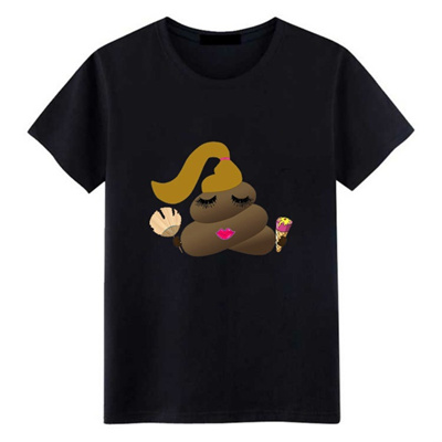 1b1e5e28947 Long Hair Shit Funny T Shirts Men Ice Crean And Fan Mens Clothing Cotton  Casual Short