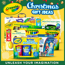 [ApplyQ10 coupon]Crayola Christmas Gift Ideas My First Crayola Touch Lights/Inspiration Art Case