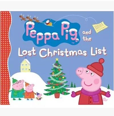 Peppa Pig Christmas.Singaporepeppa Pig Peppa Pig Pepe Pig Christmas Story Book Hardcover Picture Books Dhzwj Child Cloth
