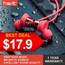 (▼50%) Havit® I39 / Mini Ultra-lightweight Wireless In-ear earbuds / IPX5 Waterproof