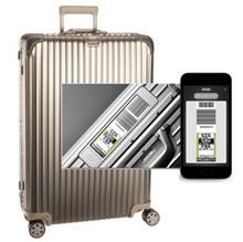 ★ Coupon price $ 985 With VAT included ★ Rimowa Carrier Topaz Titanium multi-wheel 70 size electronic tag