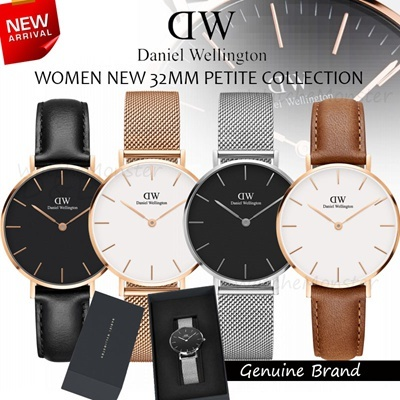 8dd98710f2e7 Daniel Wellington Classic Black Petite Edition 28 32 36 40mm Rose Gold    Sterling Deals for only S 249 instead of S 0