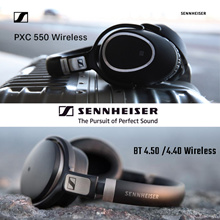 Qoo10 Promo Sennheiser BT 4.5 BTNC Wireless Bluetooth Headphones PXC 550 / MOMENTUM