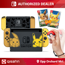 Nintendo Switch Console System Bundle /w Pokemon Lets Go // Local Warranty // Local Set