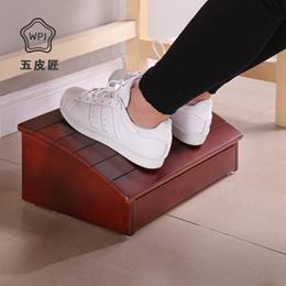 实木脚踏板电脑桌踏脚沙发脚踏钢琴垫脚凳学习办公搁脚凳门槛踏板