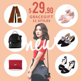 Gracegift-Special Sale Flats Sneakers Handbags Backpacks Bags/Women/Ladies/Taiwan Fashion-Flash Deal