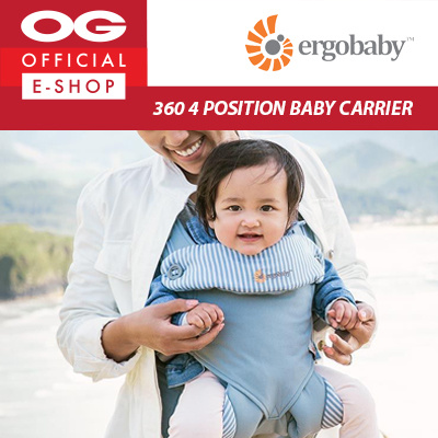 4aec5e82746d Ergobaby - 360 4 Position Baby Carrier - Azure Blue ♥