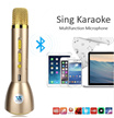 Wireless Bluetooth Karaoke Microphone Mini Portable+Speaker Outdoor K088/ Q7/ K068/ K1 Sing Tool