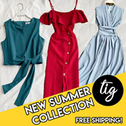 TIG SALE ★ SUMMER COLLECTION ★ ROMPER ★ TOP ★  FREE SIZE ★ SIZE S - L ★ FESTIVE OFFICE ★ TRAVEL ★