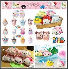 ★Tsum Tsum plush /princess/ Kitty/ Melody/ Star Wars/Pony♥ cartoon toy♥Character♥Birthday♥Party♥NEW