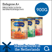 [Enfagrow A+] [SINGLE TIN PROMO]Enfagrow A+ with 360 DHA PLUS Stage 3/4/5 900g Made in Netherlands