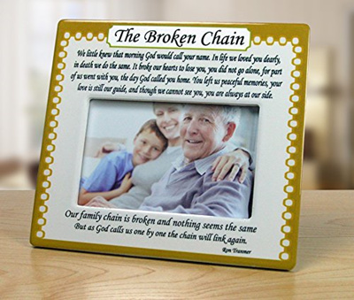Qoo10 The Broken Chain Picture Frame 4 X 6 Memorial Photo Frame