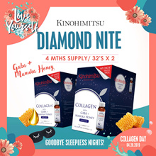 Kinohimitsu Collagen Diamond Nite [4MTH SUPPLY] 32s+32s *Improve Sleep Quality* Beautiful skin*