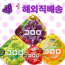 UHA Flavor Coroloro Fruit Jelly Gumi 4 kinds of flavor Japan Kororo Jelly SNS Hot topic product The emergence of konjac jelly based stronger! Mango / grape / blueberry / orange / peach
