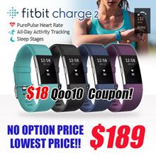 [Make 189!] FITBIT CHARGE 2 PurePulse Heart Rate / Multi-Sport Tracking Connected GPS / CALL