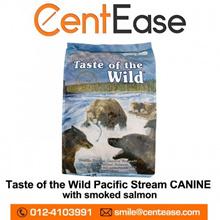 Taste Of The Wild Pacific Stream Formula Dog Food - Smoked Salmon 13.60KG