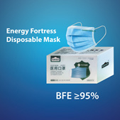 Energy Fortress 3-Layered Surgical Mask