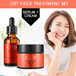 1 paket OST C 20 Pure Serum + Cream Vitamin C ORIGINAL 30ml Directly FROM KOREA