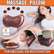 [Lowest Price] Car/Home Infrared Light Body Massager Pillow Cushion/Shiatsu Massager